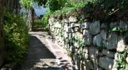 Der Rest der Ettermauer beim Bohnentor